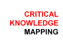 Critical Knowledge Mapping