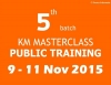 KM Masterclass batch 5: Create Your KM Initiative, NOW!