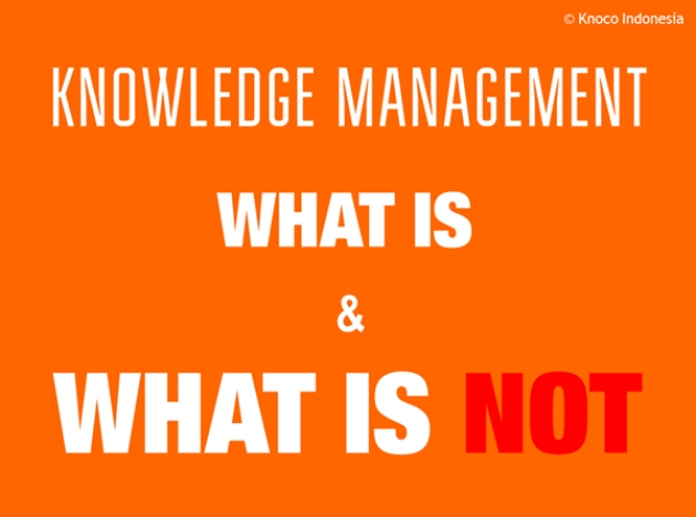 KM: What Is and What Is Not
