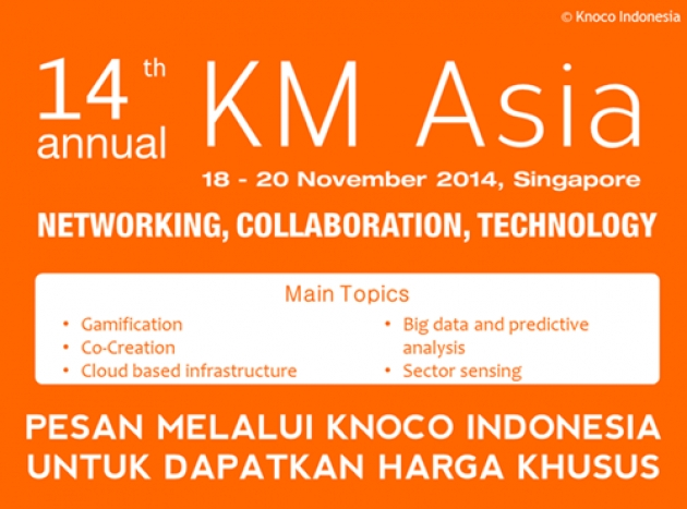 KM Asia 2014: Networking, Collaboration, and Technology